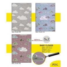 Παιδική χαλομοκέτα Baby Clouds 510 Light Blue